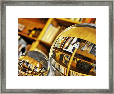 Crystal Ball Project 99 Framed Print by Sarah Loft