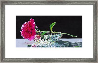 Crystal Beauty Framed Print by Arlene Steinberg