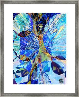 Crystal Blue Persuasion Framed Print by Seth Weaver