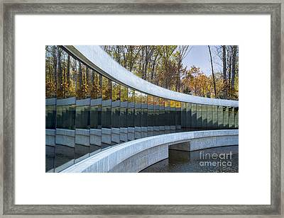 Crystal Bridges Framed Print