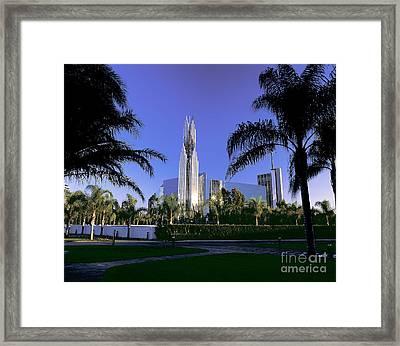 Crystal Cathedral Framed Print