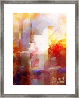 Crystal City Framed Print by Lutz Baar