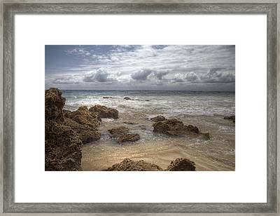 Crystal Cove Beach Framed Print