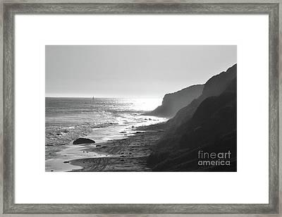 Crystal Cove I Framed Print
