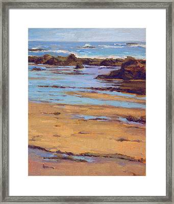 Crystal Cove Framed Print