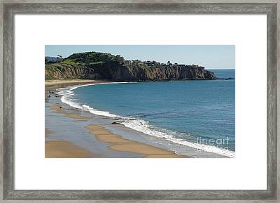 Crystal Cove View - 02 Framed Print by Gregory Dyer
