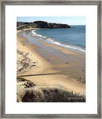 Crystal Cove View - 03 Framed Print by Gregory Dyer