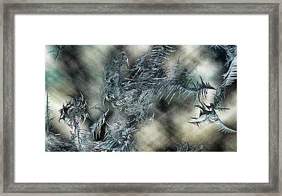 Framed Print featuring the digital art Crystal Heaven by Steven Richardson