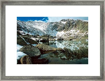 Crystal Lake Framed Print by Eric Glaser