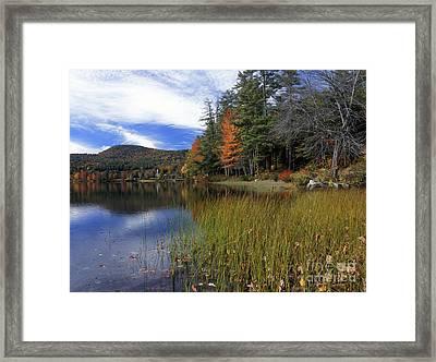 Crystal Lake - Fm000116 Framed Print