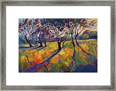 Crystal Light II Framed Print