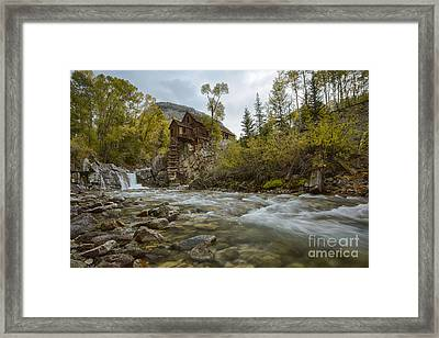 Crystal Mill Framed Print by Idaho Scenic Images Linda Lantzy