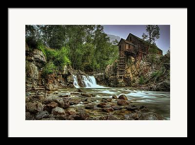 Crystal Colorado Framed Prints