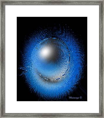 Crystal Moon Framed Print