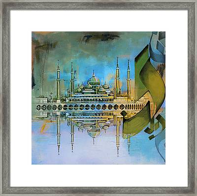 Crystal Mosque Framed Print