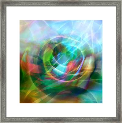 Crystal Nature Framed Print