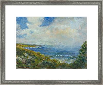 Crystal Overlook Framed Print