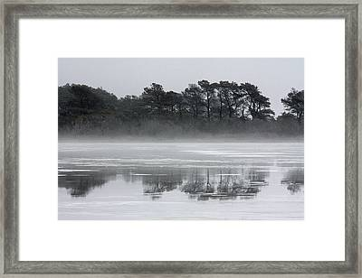 Crystal Sea Framed Print