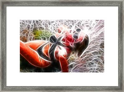 Crystal Sling 2 Fractal Framed Print by Gary Gingrich Galleries