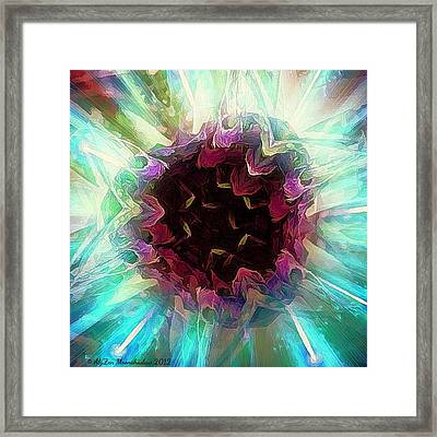Crystalline Entity Framed Print