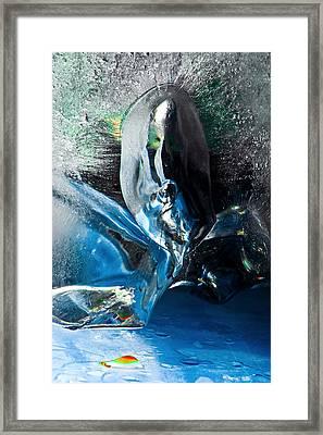 Crystalline Framed Print by Petros Yiannakas
