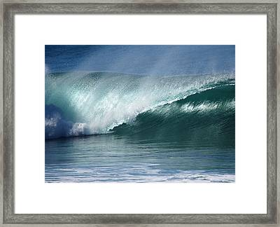 Crystalline Pipeline  Framed Print