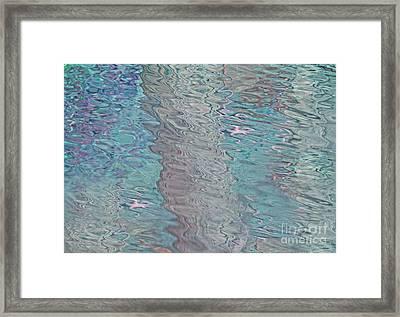 Crystalline Waters Framed Print