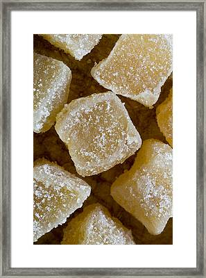 Crystallized Ginger Framed Print by Frank Tschakert