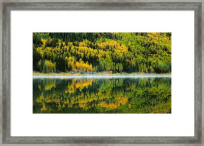 Crystal's Colors Framed Print by Darren  White