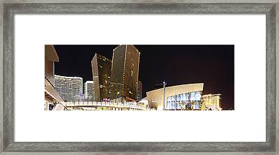 Crystals Mall - Las Vegas - 01131 Framed Print by DC Photographer