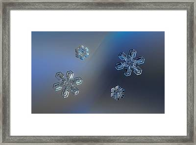 Crystals Of Day And Night Framed Print by Alexey Kljatov