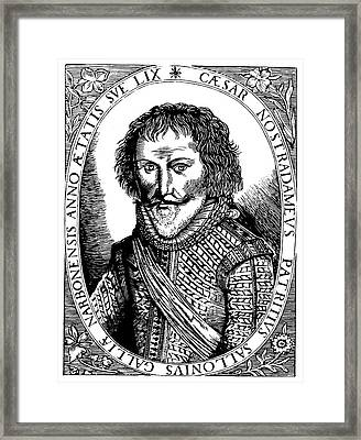 C�sar Nostradamus (1555-1629) Framed Print by Granger