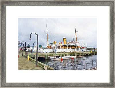 Css Acadia Framed Print