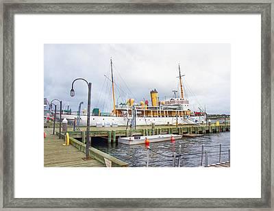 Css Acadia Framed Print by Betsy Knapp