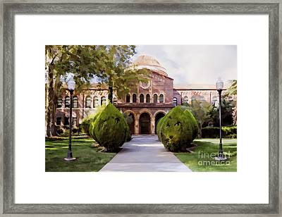 Csu Chico - Kendall Hall Framed Print