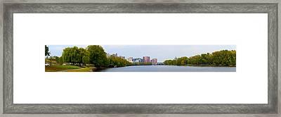 City Of Hartford Framed Print by Jasmin Hrnjic