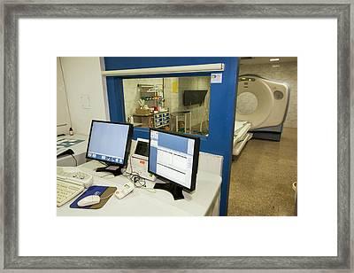 Ct Scanner Framed Print by Ashley Cooper
