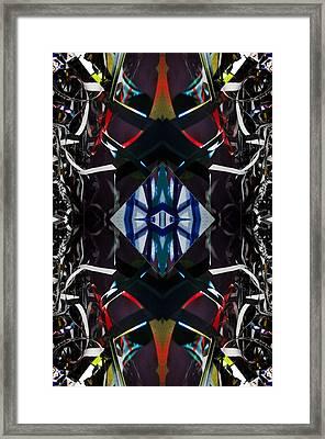 Cuatros Framed Print by Citpelo Xccx