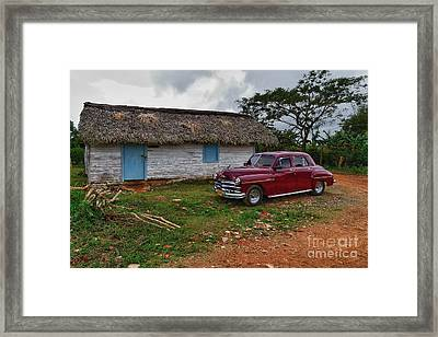 Framed Print featuring the photograph Cuba Cars 3 by Juergen Klust