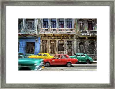 Cuba, Habana Framed Print