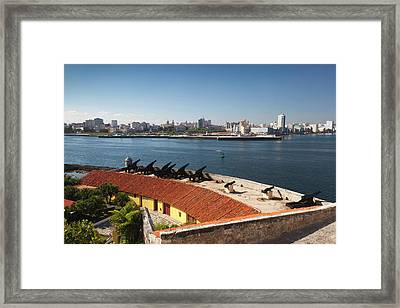 Cuba, Havana, Elevated View Framed Print