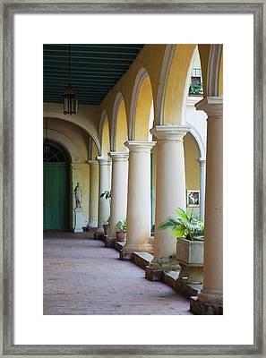Cuba, Havana, Havana Vieja, Convento De Framed Print