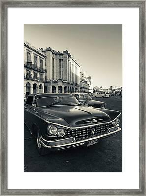 Cuba, Havana, Havana Vieja, Detail Framed Print