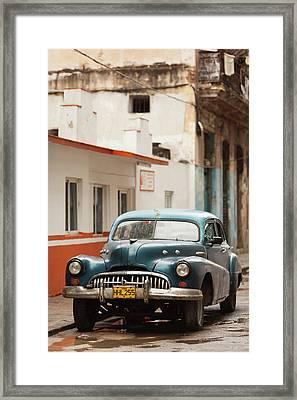 Cuba, Havana, Havana Vieja, Morning Framed Print