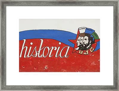 Cuba, Havana, Havana Vieja, Museo De La Framed Print by Walter Bibikow