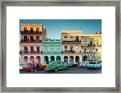 Cuba, Havana, Havana Vieja, Outside T Framed Print