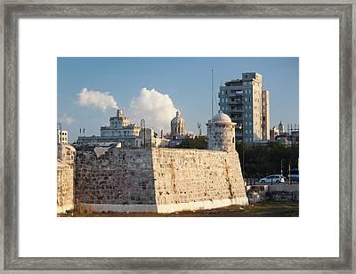 Cuba, Havana, Sunset View Framed Print