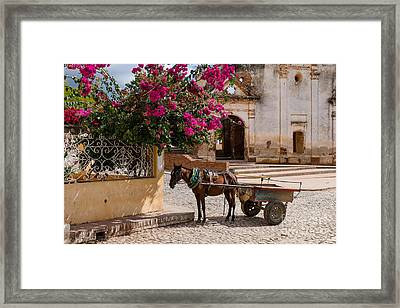 Framed Print featuring the photograph Cuba Impression by Juergen Klust