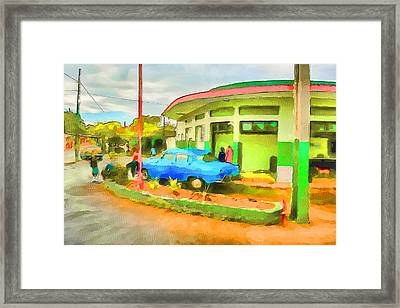 Cuba Street Life 9 Framed Print