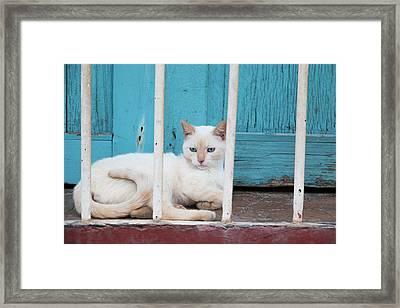 Cuba, Trinidad Framed Print